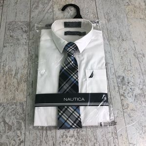 Nautica Dress Shirt and Tie Package 1904